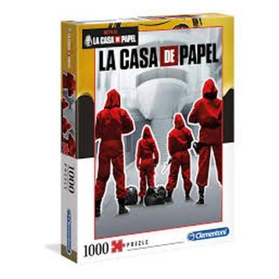 PUZZLE 1000 PZ LA CASA DI CARTA