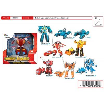 ROBOT TRASFORMER 24X26 6 ASSORTITI
