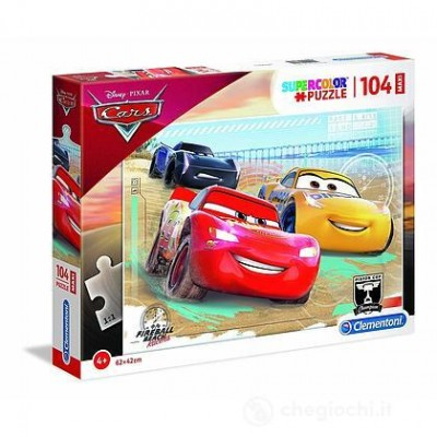 PUZZLE MAXY 104 PZ CARS