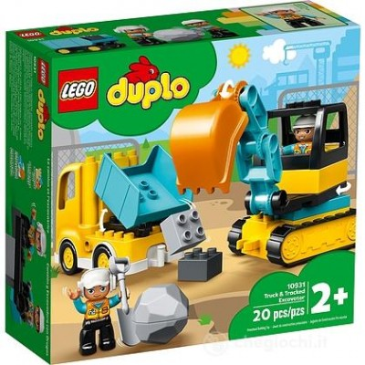 10931 LEGO DUPLO MEZZI CANTIERE
