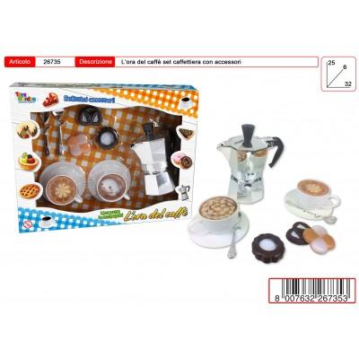 SCATOLA L'ORA DEL CAFFE' 25X32