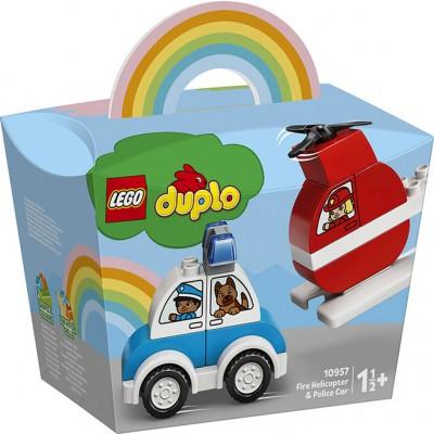 10957 LEGO DUPLO ELICOTTERO E AUTO