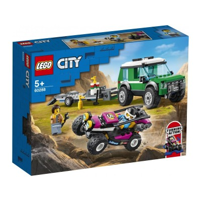 60288 LEGO CITY JEEP PORTABUGGY