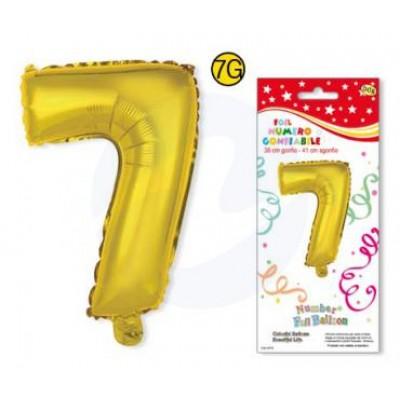 NUMERO 7 ORO