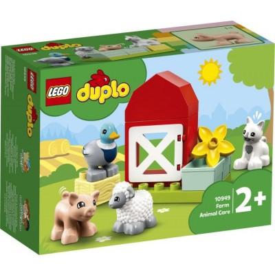 10949 LEGO DUPLO ANIMALI FATTORIA