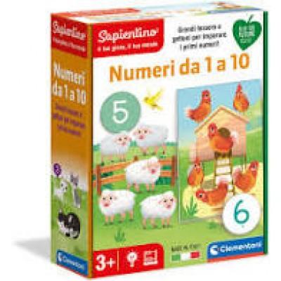 EDUCATIVI 3+ NUMERI DA 1 A 10