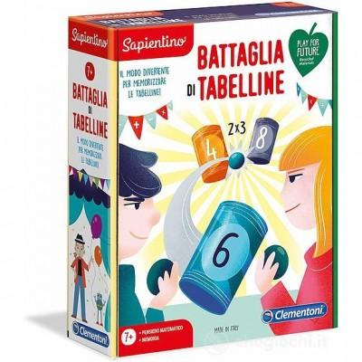 EDUCATIVI 7+ LE TABELLINE