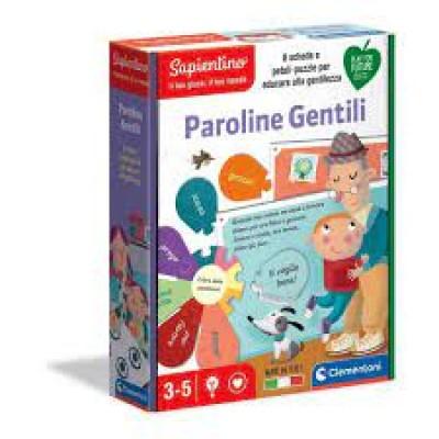 EDUCATIVI 3+ PAROLINE GENTILI
