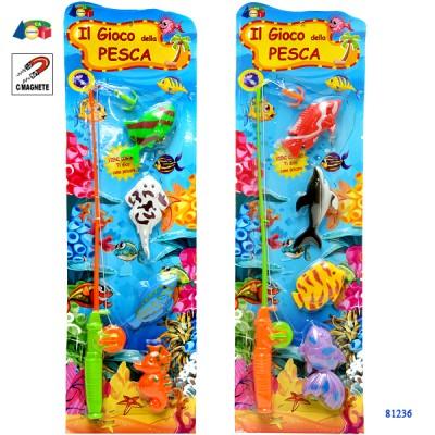 BLISTER GIOCO PESCA 15X50