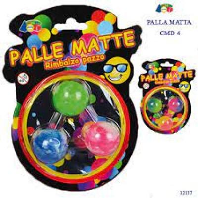 SET 3 PALLE MATTE