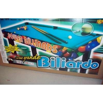 BILIARDO CON GAMBE 108X58 H 79