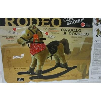 CAVALLO DONDOLO VOCE MARRONE 74X67H
