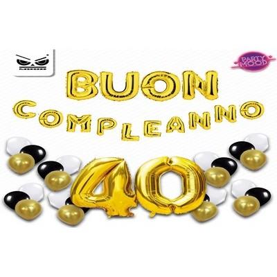 BUSTA BUON COMPLEANNO 40 ANNI